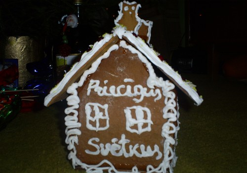 Mana piparkūku māja 2012