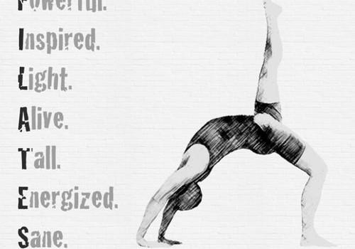 Pilates jogas meistarklase- ķermeņa korsetes stiprināšana