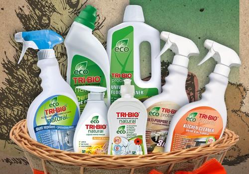 KONKURSS: Iepriecini sev tuvo ar TRI-BIO ekoloģiskiem tīrīšanas līdzekļiem