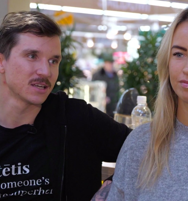 3.novembra raidījuma lielajā intervijā - Miks Dukurs ar sievu Lauru