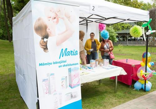 Festivālā MARIA atgādināja par rūpēm par sieviešu veselību