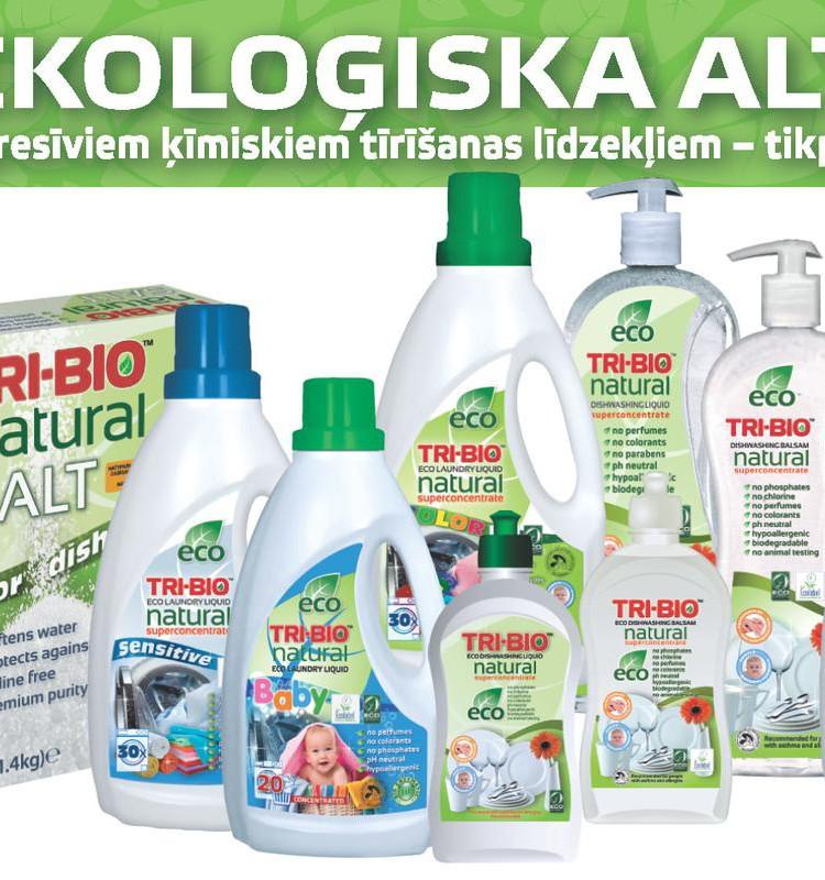 Meklējam mammu, kura ir lietojusi Tri - Bio tīrīšanas līdzekļus!