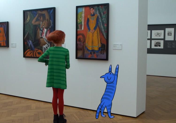 """Jauns izglītojošs Latvijas raidījums bērniem par mākslu """"Mazā Mula lielajā mākslas pasaulē"""""""