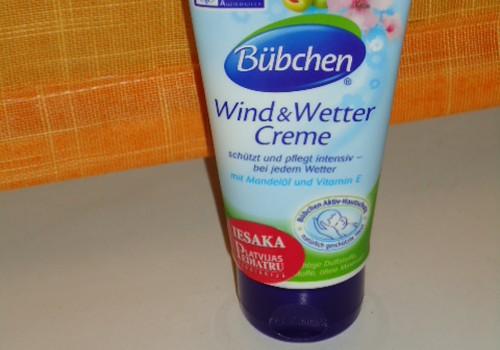 Atsauksme par Bubchen krēmu sliktiem laikapstākļiem