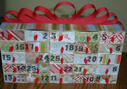 Idejas Adventes kalendāram