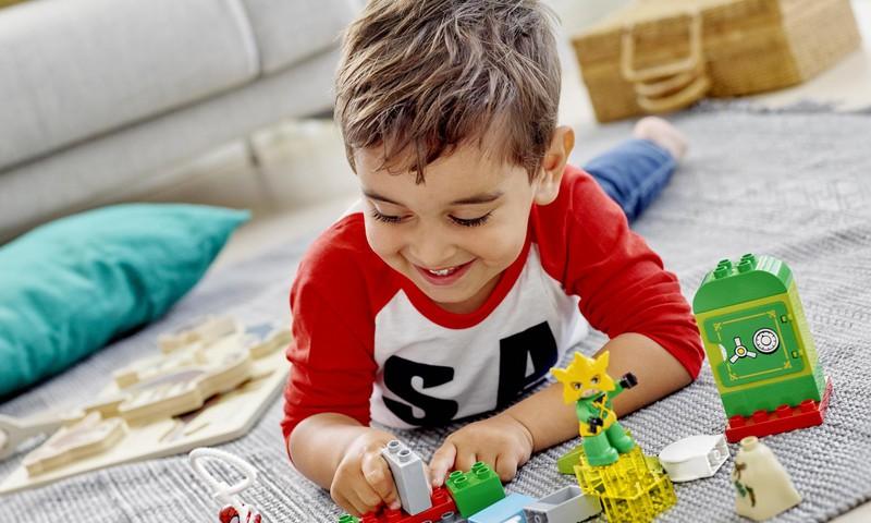 Laimē LEGO Duplo STEAM Train ONLINE TV!