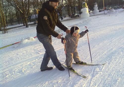 Ar cerību uz jauku laiku un ticību,ka šogad slēpošanas prasmes tiks nostiprinātas!