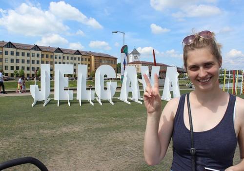 NE-mājās ar mazo: Jelgava