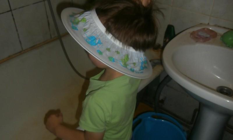 Ar Canpol cepurīti matus mazgājam ar prieku