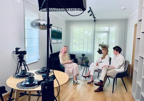 20.jūnija TV raidījuma lielajā intervijā - Ieva un Oskars Florenči - Vīksnes