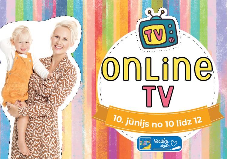 10. jūnijā no plkst. 10.00 pieslēdzies Māmiņu Kluba Online TV!