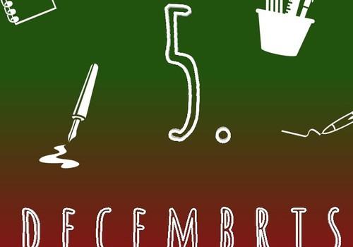 """5. decembris - """"Tāfeles"""" rakstības trenniņiem #mansmaterialuskapis"""