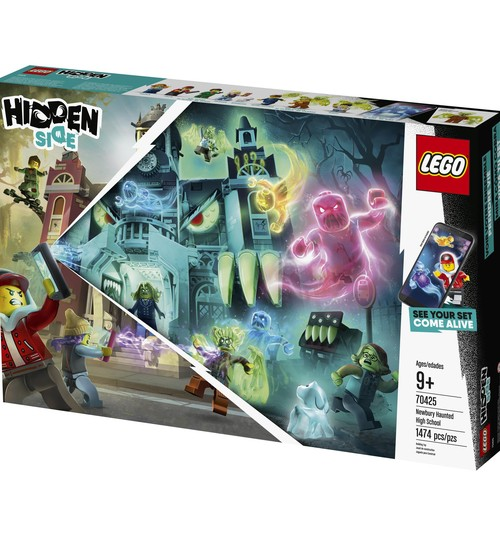 Facebook KONKURSS: Laimē LEGO® Hidden Side™ komplektu!