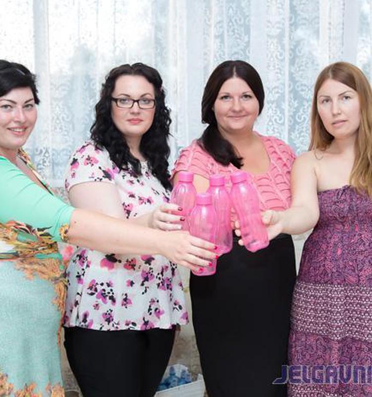 """21.augustā ar svinīgu pasākumu """"Figura Line """" salonā Dobeles ielā 48 atklāja projektu """"Tievējam kopā ar Jelgavas māmiņu klubu"""""""