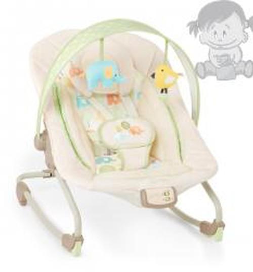 Pārdodu Bright Starts Comfort & Harmony šūpuļkrēsls Zilonis