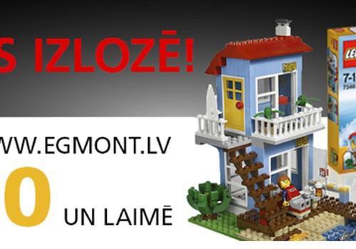 Pērc Egmont grāmatas un laimē LEGO komplektu!