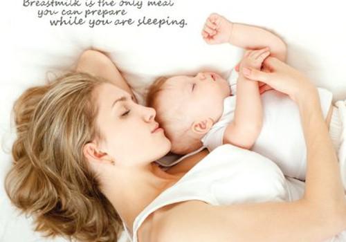 Krūts-bērna miegs