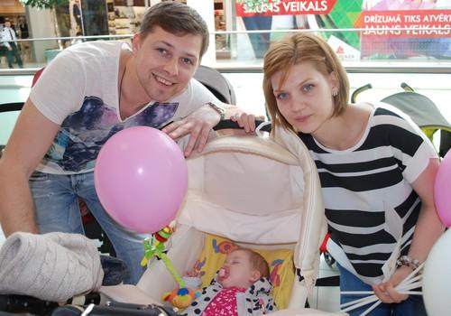 FOTO: Svinam vasaru kopā ar Chicco modes un izklaides centrā Rīga Plaza