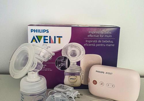 Philips AVENT elektriskais piena sūknītis.