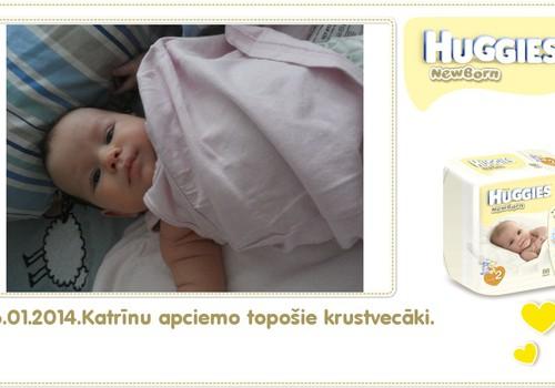 Katrīna aug kopā ar Huggies® Newborn: 81.dzīves diena