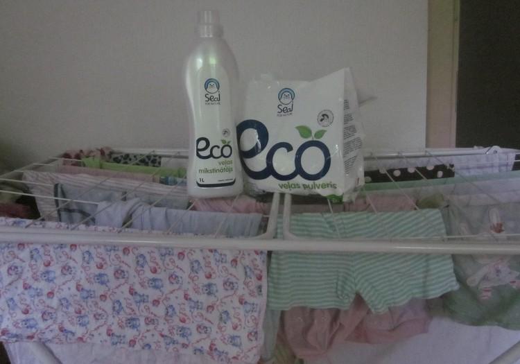 ECO veļas mazgāšanas līdzekļu tests