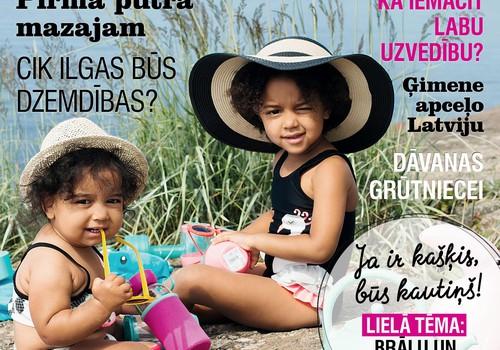 Kas interesants jūlija žurnālā MANS MAZAIS?