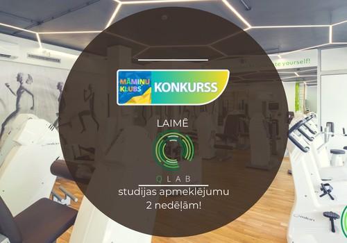 Facebook KONKURSS: Laimē QLAB studijas 2 nedēļu apmeklējumu!