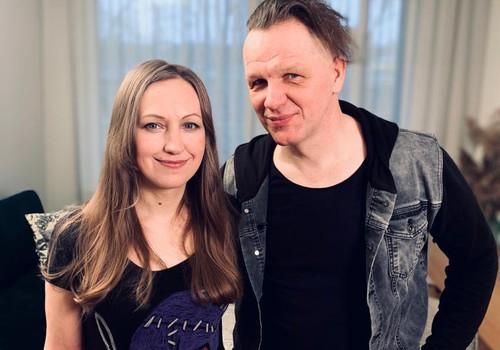 11. aprīļa Māmiņu Kluba TV raidījuma lielajā intervijā - Juris un Aija Kaukuļi