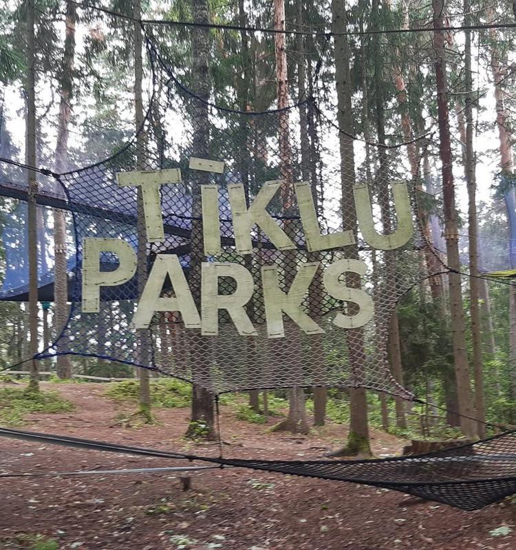 Tīklu parks Līgatnē