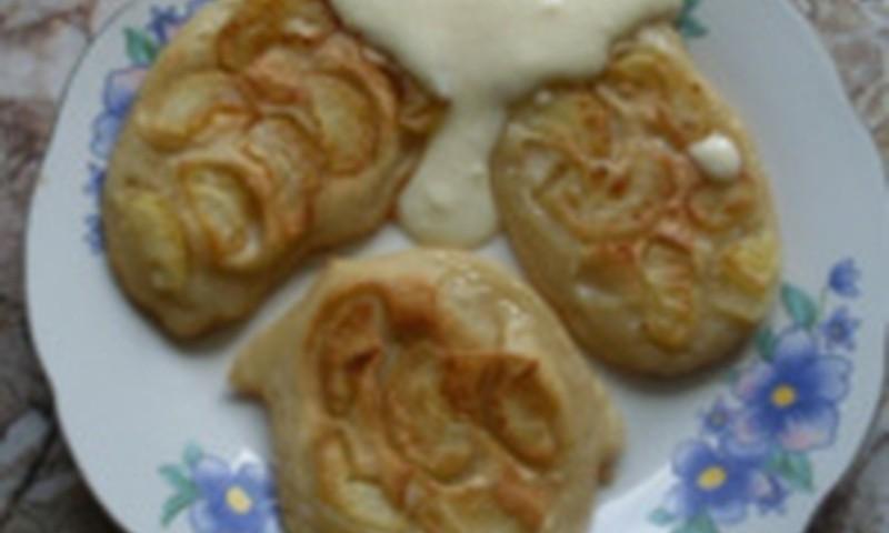 Gardumiņš sestdienas rītā- pankūkas ar āboliem