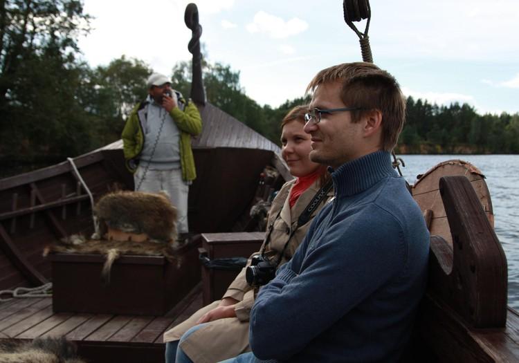 Ar Vikingu laivu pa Daugavu