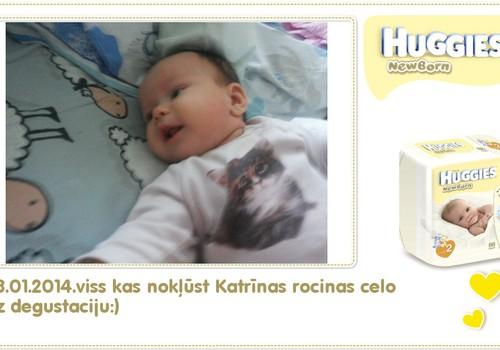 Katrīna aug kopā ar Huggies® Newborn: 94.dzīves diena