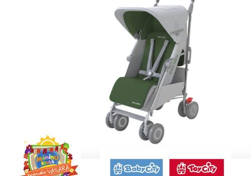 Nāc uz Māmiņu Kluba festivālu un laimē Baby City Toy City sporta ratus 350EUR vērtībā!