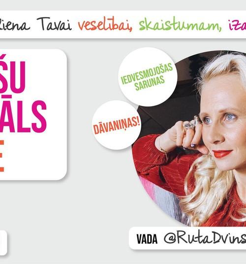 Tiekamies Sieviešu Festivālā  - Online sieviešu kursos visas dienas garumā!