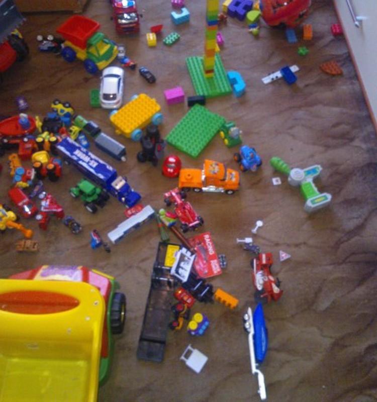 Mūsu atpūtas zona jeb visa māja rotaļu istaba