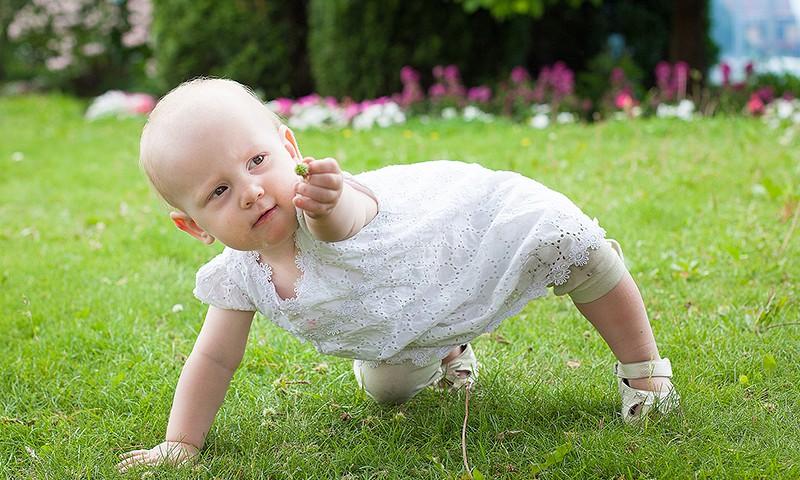 FOTOKARTĪŠU PROJEKTS: Parādi sava mazā staigātāja pirmās pastaigas!