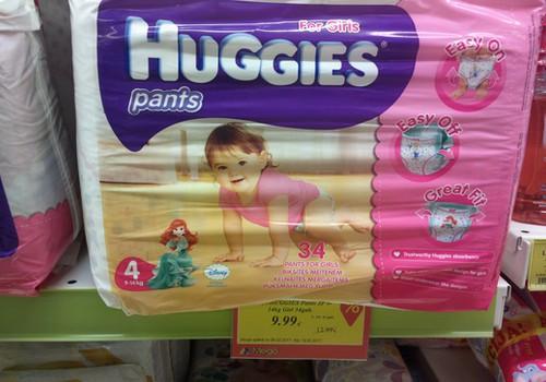 Huggies Pants un mitro salvešu akcija MEGO veikalos