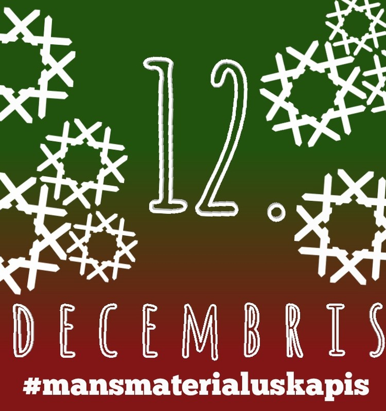 12. decembris - Sniegavīrs, rūķītis... Tualetes papīra ruļļu lelles #mansmaterialuskapis