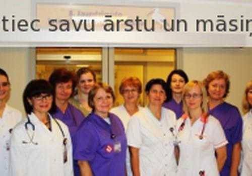 Satiec savu ārstu un māsiņu Bērnu slimnīcā!