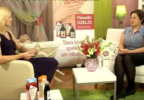ONLINE TV videosaruna: uzturs grūtniecības laikā