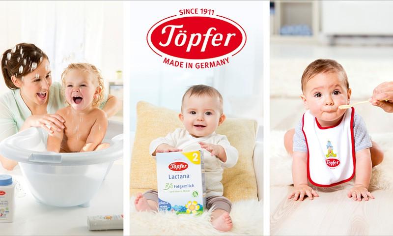 Töpfer piena maisījumi, speciālais uzturs un putriņas mūsu mazuļiem