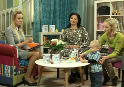 Ir jautājumi par mazuļa uzturu? Saņem atbildes ONLINE TV!