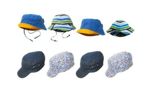 Cepures saulainām, siltām un vējainām dienām no Polarn O. Pyret!