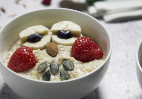 Kā padarīt brokastu putru par bērniem interesantu ēdienu? Piecas viltības
