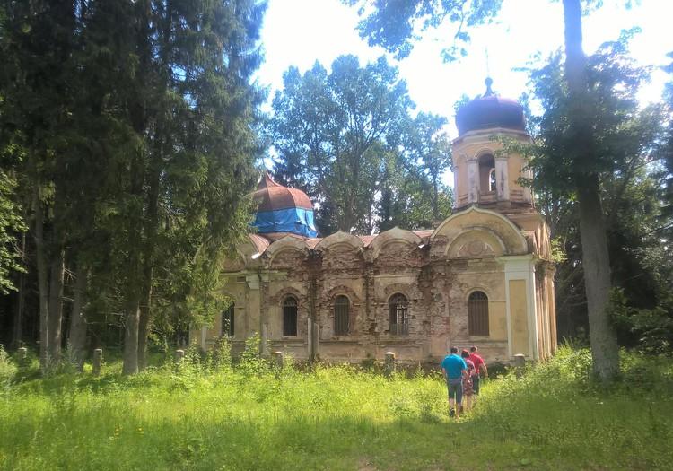 Zudis Latvijā- baznīca bez nosaukuma
