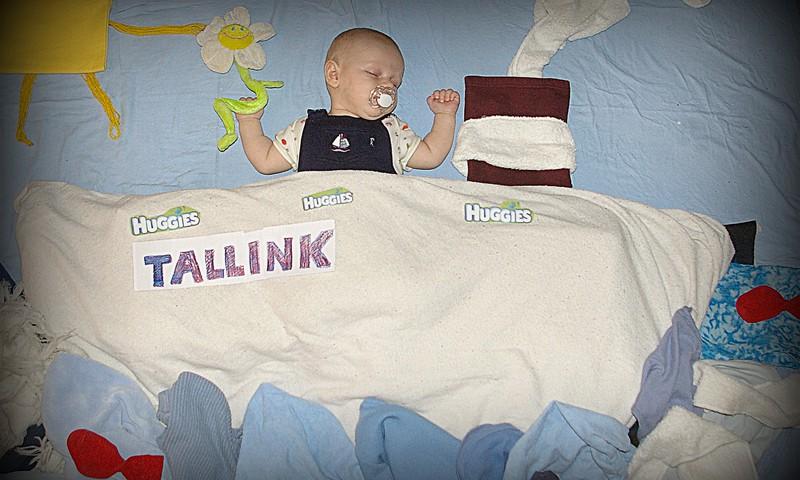 Viesturiņa Huggies-Tallink sapņu kuģis...