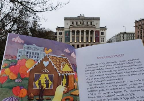 """LAIMĒ grāmatu """"Rīgas ēdampasakas"""""""