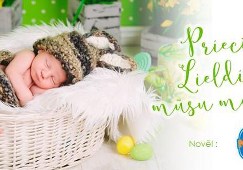 Priecīgas Lieldienas mūsu mazajiem!