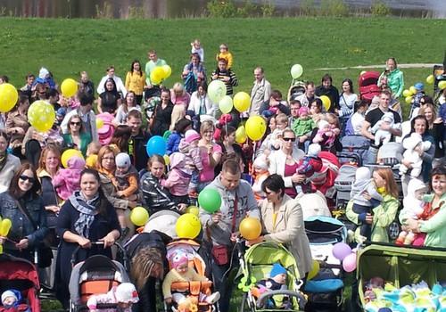 Māmiņu Klubs ielūdz VISUS 1.jūnijā uz LIELO PASTAIGU!