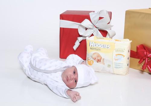 Dāvinām jaundzimušā apģērbu komplektu Huggies loterijā!